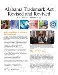 January 2011 • Vol. 72, no. 1 - Bradley Arant Boult Cummings LLP - Page 5