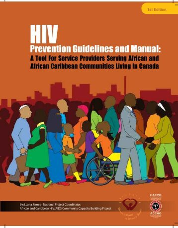 HIV prevention guidelines and manual - CATIE