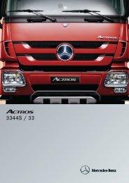 Actros 3344 S 6x4 - Mercedes Benz