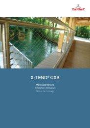 X-TEND® CXS - Carl Stahl Architektur