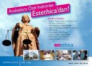 Ethica Sağlık Grubu'ndan - İstanbul Barosu