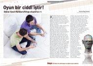 Kitap eleştirisi: Oyun bir ciddi iştir! - Bilişim Dergisi