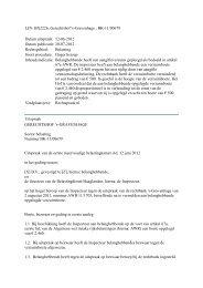 Gerechtshof Den Haag, nr. BK-11/00679, 12 juni 2012