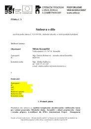 Příloha č. 3 - Smlouva o dílo VŘ - Město Kroměříž