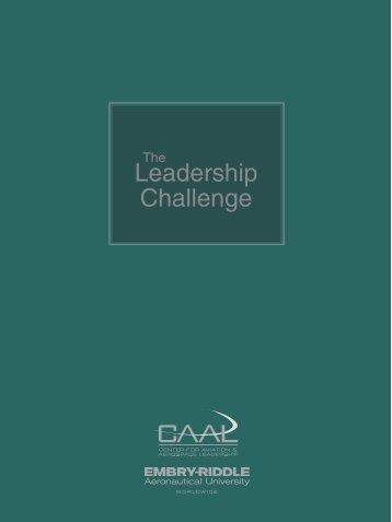 Leadership Challenge - Worldwide - Embry-Riddle Aeronautical ...