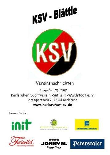 Herbst 2013.pdf - Karlsruher SV