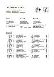 TSV Pfedelbach 1911 e.V.