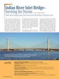 Indian River Inlet Bridge - Aspire - The Concrete Bridge Magazine