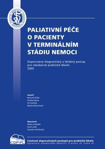 paliativní péče o pacienty v terminálním stádiu nemoci - Společnost ...