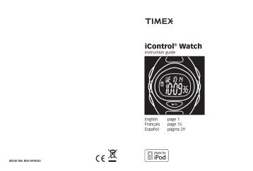 iControl® Watch - Timex