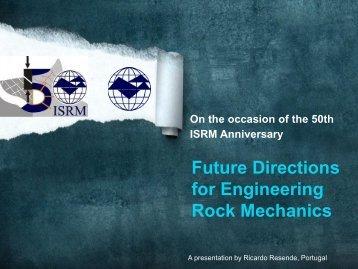 to download his winning slide show - ISRM