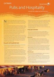 Australia Outback Pubs Hotels - Tourism Australia Media Centre ...