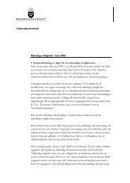 1. Sammanfattning av läget för de mänskliga rättigheterna Irak ...