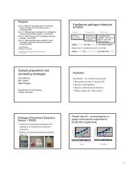 Research Projects - Center for Food Safety Engineering - Purdue ...