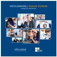 Erfolgsmodell Duales Studium - Leitfaden für Unternehmen