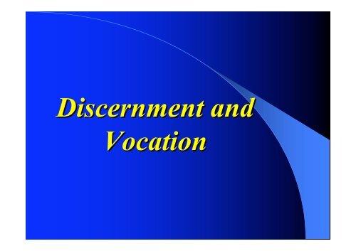 Discernment and Vocation.pdf