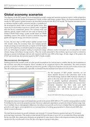 Global economy scenarios - Nordicenergyperspectives.org