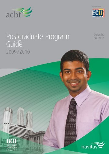 Postgraduate Program Guide - Navitas