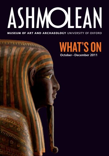 What'S oN - The Ashmolean Museum