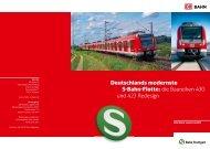 Deutschlands modernste S-Bahn-Flotte: die Baureihen ... - Bahn.de
