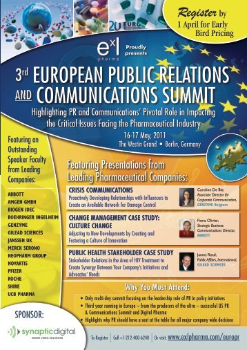 3rd European Public Relations and Communications Summit – Berlin