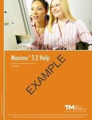 Job Aid - Total Resource Management