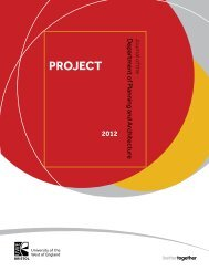 PROJECT - University of the West of England