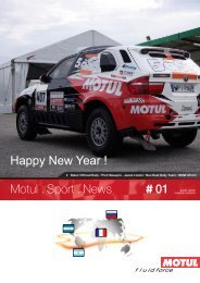 Motul . Sport . News 01 Happy New Year