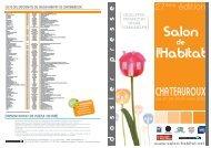 liste des exposants du salon habitat de chateauroux - Châteauroux