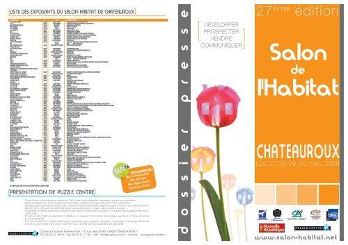 Liste Des Exposants Du Salon Habitat De Chateauroux Cha Teauroux
