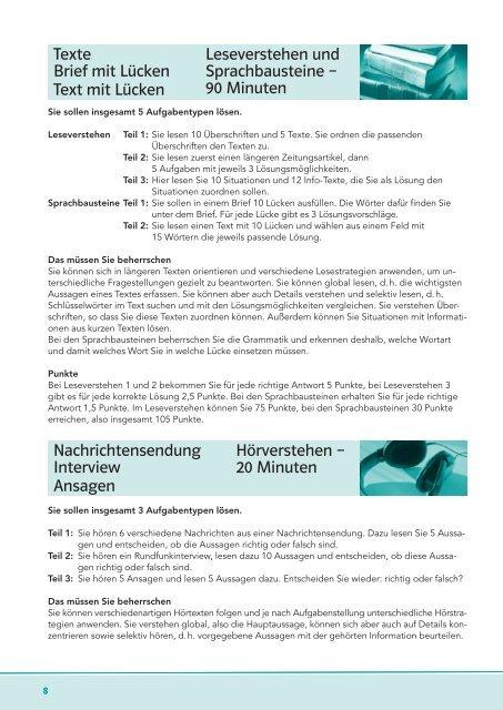Mit Erfolg Zum Zertifikat Deutsch Plus Tb