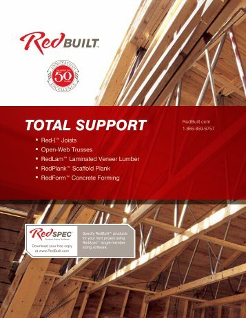 RedBuilt Total Support Brochure
