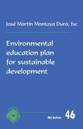 Environmental education plan for sustainable ... - La Salle.org