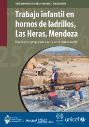 Trabajo infantil en hornos de ladrillos, Las Heras, Mendoza - Oit