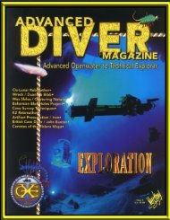 ADM Issue 4 Finnished - Advanced Diver Magazine