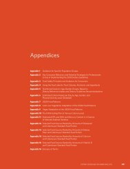 Appendices - Center for Nutrition Policy and Promotion - US ...