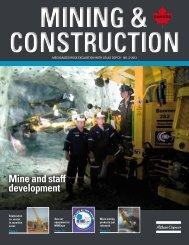 Mine and staff development - Atlas Copco