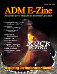 Ecuador's Volcanic Creater - Advanced Diver Magazine