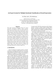 An Expert System for Multiple Emotional Classification of ... - i·bug