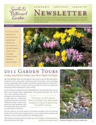 Spring 2011, Vol. 20, Issue 2 (PDF) - Santa Fe Botanical Garden