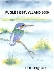 Fugle i Østjylland 2009 - DOF Østjylland