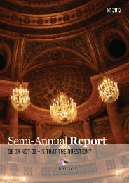 Semi-Annual Report H1 2012 - Labrusca Family Office