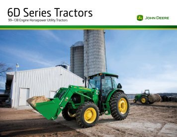 6D Series Tractors - LongsPeakEquipment