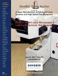 DoveBid® Online Auction