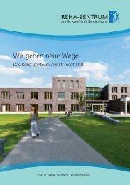Wir gehen neue Wege. - St. Josef-Stift Sendenhorst