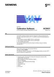 5853 Calibration Software ACS931 - ALPAT