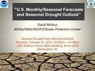 Seasonal Drought Outlook - US Drought Portal