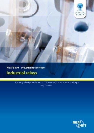 Industrial relays