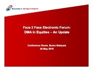 DMA In Equities DMA In Equities - Plus Concepts