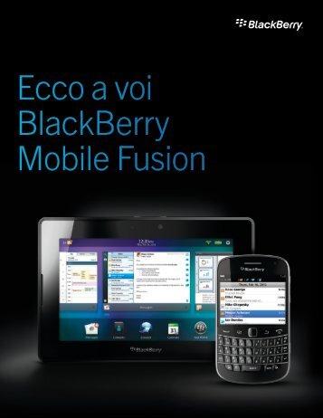 Scarica il PDF - BlackBerry